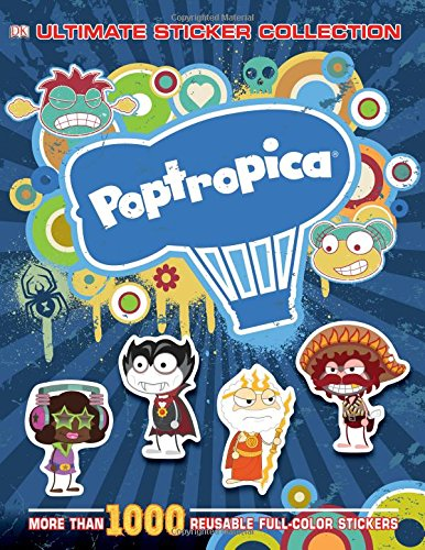 9781465420398: Ultimate Sticker Collection: Poptropica (ULTIMATE STICKER COLLECTIONS)