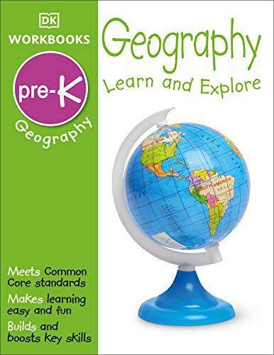 9781465428516: DK Workbooks: Geography, Pre-K