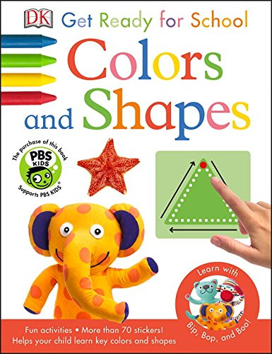 9781465429087: Bip, Bop, and Boo Get Ready for School: Colors and Shapes (Skills for Starting School)