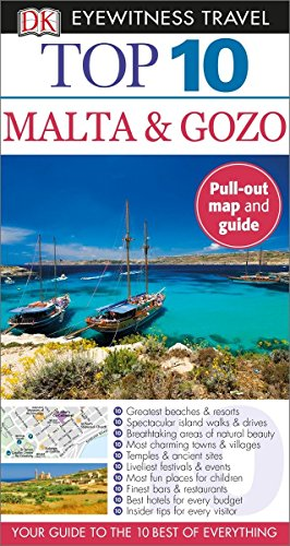 9781465429216: Top 10 Malta and Gozo (Dk Eyewitness Top 10 Travel Guides) [Idioma Inglés]