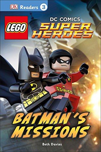 DK Readers L3: LEGO DC Comics Super Heroes: Batman's Missions: DK