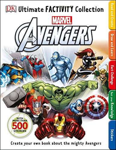 9781465432490: Ultimate Factivity Collection: Marvel The Avengers