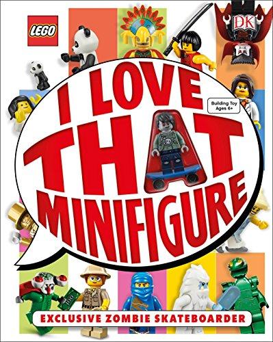 9781465436832: Lego: I Love That Minifigure: Exclusive Zombie Skateboarder Minifigure