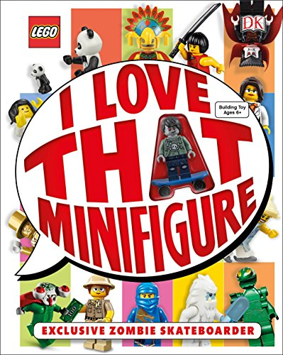 9781465436832: Lego: I Love That Minifigure