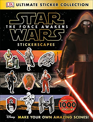 9781465437860: Ultimate Sticker Collection: Star Wars: The Force Awakens Stickerscapes