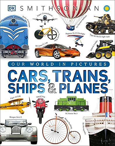9781465438058: Cars, Trains, Ships, and Planes