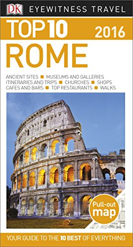 9781465440860: Top 10 Rome (Eyewitness Top 10 Travel Guide)
