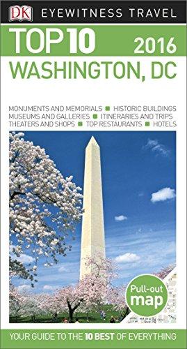 9781465440877: Top 10 Washington DC (Eyewitness Top 10 Travel Guide)