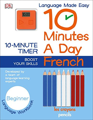 9781465444097: 10 Minutes a Day: French, Beginner
