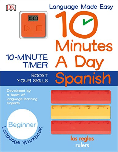 9781465444103: 10 Minutes a Day: Spanish, Beginner