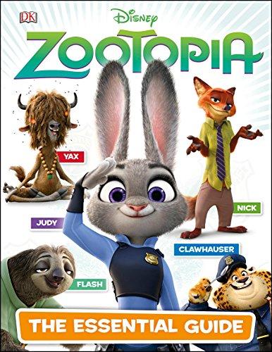 Disney Zootopia: The Essential Guide (Hardback)