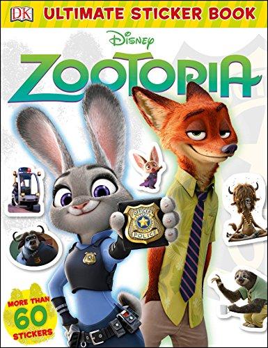 9781465444295: Ultimate Sticker Book: Disney Zootopia (Ultimate Sticker Books)