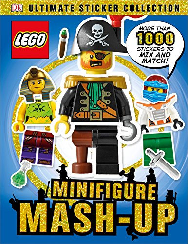 9781465444646: Ultimate Sticker Collection: LEGO Minifigure: Mash-up! (Ultimate Sticker Collections)