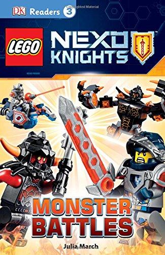 9781465444752: DK Readers L3: LEGO NEXO KNIGHTS: Monster Battles
