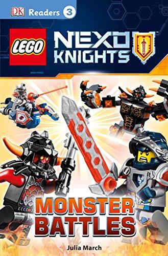 9781465444769: DK Readers L3: LEGO NEXO KNIGHTS: Monster Battles