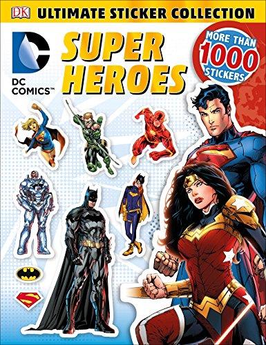 9781465445490: Ultimate Sticker Collection: DC Comics Super Heroes (Ultimate Sticker Collections)