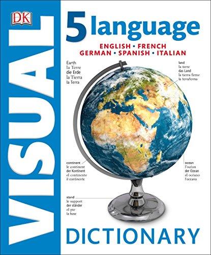 9781465447562: 5 Language Visual Dictionary