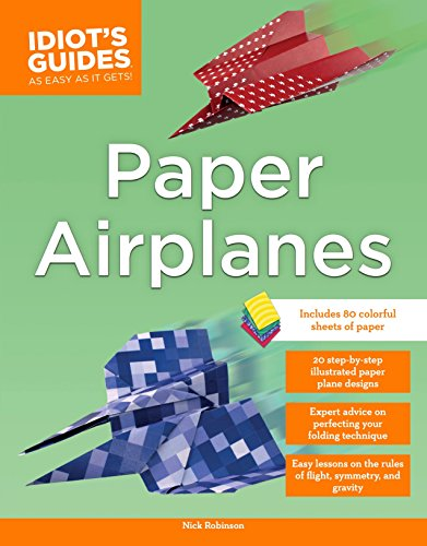9781465451132: Idiot's Guides Paper Airplane Kit