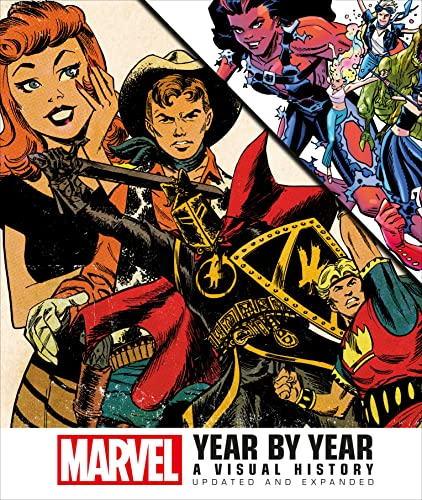 9781465455505: Marvel Year by Year: A Visual History, Updated and Expanded