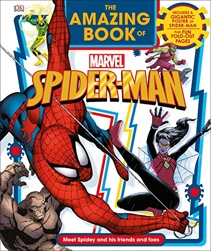 The Amazing Book of Marvel Spider-Man (Hardback or Cased Book)