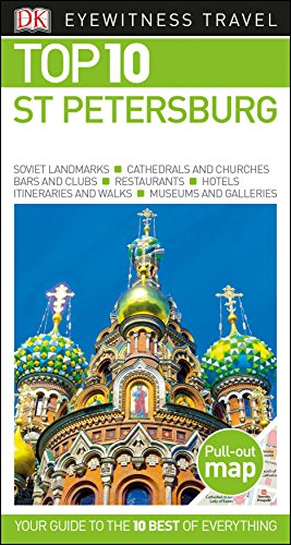 9781465459923: Top 10 St Petersburg (Dk Eyewitness Top 10 Travel Guide)