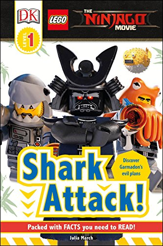 9781465461940: DK Readers L1: The Lego(r) Ninjago(r) Movie: Shark Attack! (The Lego Ninjago Movie: DK Readers, Level 1)