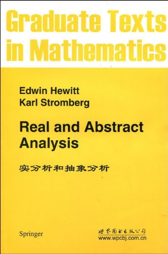 9781465598905: Real and Abstract Analysis (Graduate Texts in Mathematics) (v. 25)