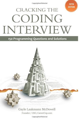 9781466208681: Cracking the Coding Interview: 150 Programming InterviewQuestions and Solutions