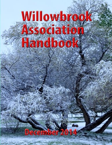 9781466218383: Willowbrook Association Handbook: 2011