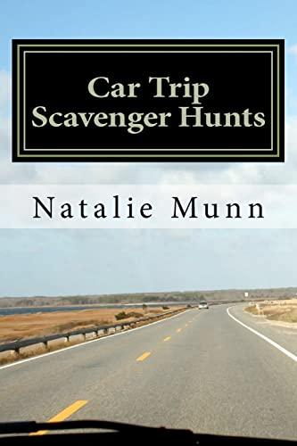 9781466253469: Car Trip Scavenger Hunts