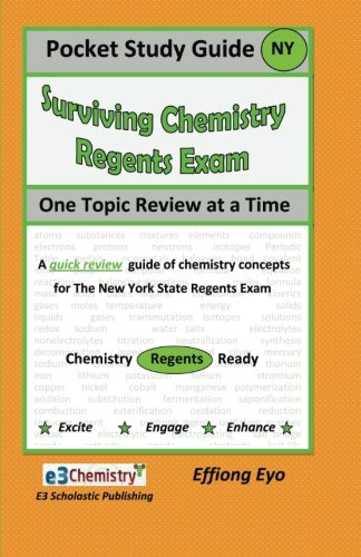 9781466258778: Pocket Study Guide Surviving Chemistry Regents Exam: One Topic review at a Time (Orange Cover)