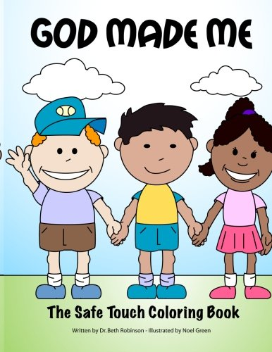 9781466266285: God Made Me: The Safe Touch Coloring Book