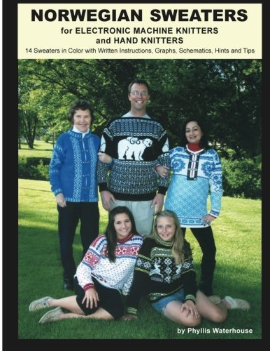 9781466276895: Norwegian Sweaters for Electronic Machine Knitters and Hand Knitters