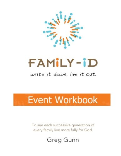 """9781466287457: Family-iD Event Workbook: """"To see each successive generation, of every family, live more fully for God."""""""