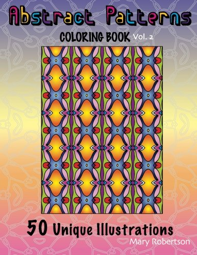 9781466312623: Abstract Patterns Coloring Book: 50 Unique Illustrations