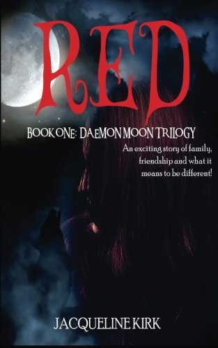9781466322578: Red: Book One: Daemon Moon Trilogy