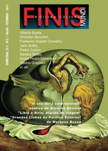 Finis Mundi: A Ultima Cultura #3 (Portuguese: Antonio Marques Bessa,