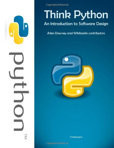 9781466367296: Think Python: An Introduction to Software Design