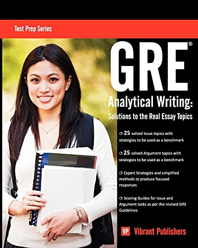 9781466399570: GRE Analytical Writing: Solutions to the Real Essay Topics (Test Prep Series)