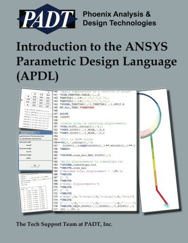 9781466411357: Introduction to the ANSYS Parametric Design Language (APDL): A Guide to the ANSYS Parametric Design Languag