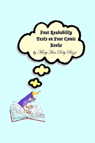 9781466430594: Four Readability Tests on Four Comic Books