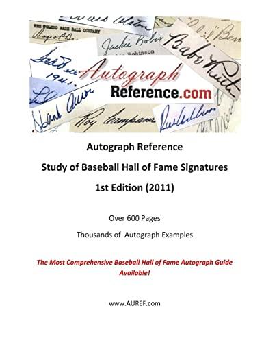Autograph Reference.com Study of Baseball Hall of Fame Signatures: Poll, Robert