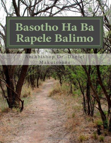 9781466440241: Basotho Ha Ba Rapele Balimo (Southern Sotho Edition)