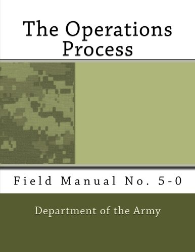 9781466462717: The Operations Process: Field Manual No. 5-0