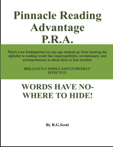 9781466472884: Pinnacle Reading Advantage P.R.A.: Words Have Nowhere To Hide!