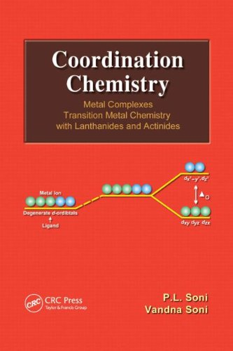9781466500501: Coordination Chemistry: Metal Complexes