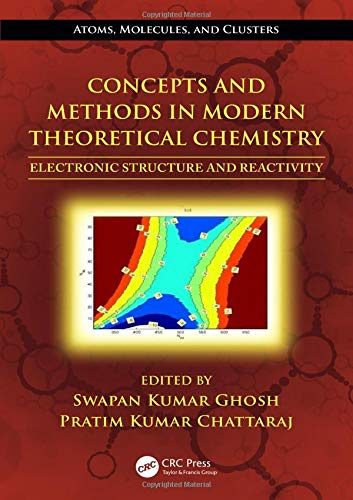 9781466505285: Concepts and Methods in Modern Theoretical Chemistry: Electronic Structure and Reactivity (Atoms, Molecules, and Clusters)