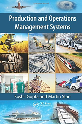 Production and Operations Management Systems: Sushil Gupta