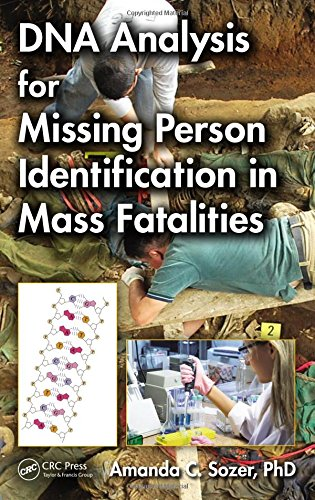 9781466513846: DNA Analysis for Missing Person Identification in Mass Fatalities