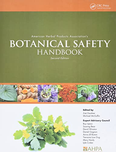9781466516946: American Herbal Products Association's Botanical Safety Handbook, Second Edition